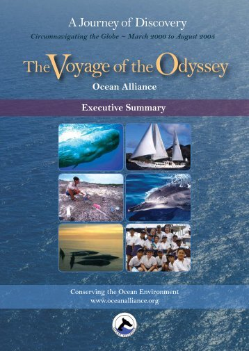 Voyage of the Odyssey executive summary - Ocean Alliance