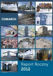 Raport Roczny 2012 PDF - Comarch
