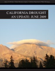 CALIFORNIA DROUGHT - International Center for Water Technology