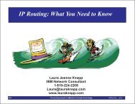 IP Routing: What You Need to Know - Laura Jeanne Knapp
