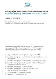 Unfallversicherung - VPV Versicherungen