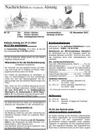 Das aktuelle Mitteilungsblatt - Oberndorf am Neckar