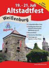 Programm Altstadtfest 2013 - Stadt Weißenburg