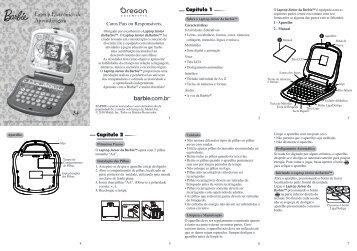 3+ Laptop Eletrônico de Aprendizagem - Oregon Scientific