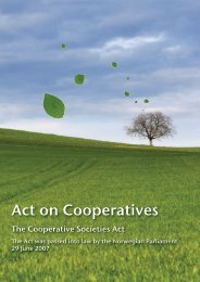 The Cooperative Societies Act
