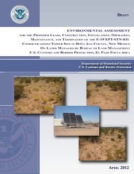 environmental assessment - Engineering and Construction Support