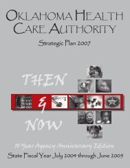 Strategic Plan - The Oklahoma Health Care Authority