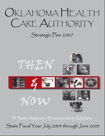Strategic Plan - The Oklahoma Health Care Authority