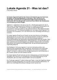 Lokale Agenda 21 - Zentrum für zivilgesellschaftliche Entwicklung