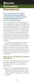 BUILDING PARTNERSHIPS WITH COLLEGE CAMPUSES ... - Page 5