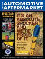 4WD - Australian Automotive Aftermarket Magazine