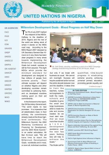 UN july newsletter pdf convert2.cdr - UNDP Nigeria - United Nations ...