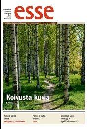 Esse 25-26/2012 (pdf) - Espoon seurakuntasanomat