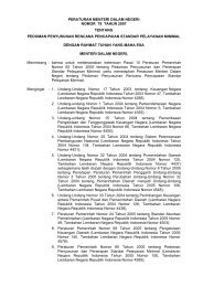 peraturan menteri dalam negeri nomor 79 tahun 2007 ... - BPKP