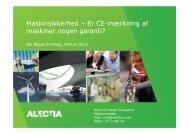 Maskinsikkerhed - BAR Bygge & Anlæg