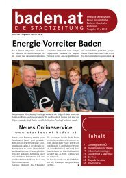 Ausgabe 01/13 - Baden