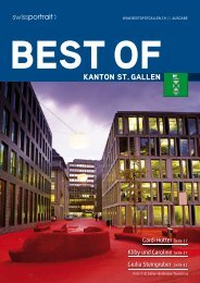 KANTON ST. GALLEN - Home > best of, Swissportrait