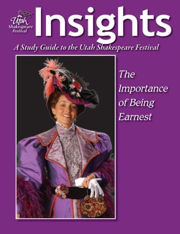 the importance of being earnest short summary pdf