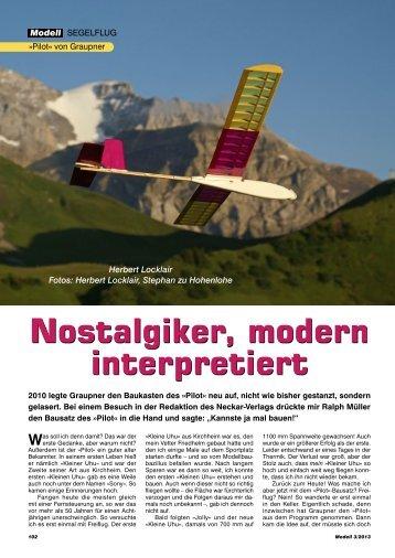Nostalgiker, modern interpretiert - Neckar Verlag
