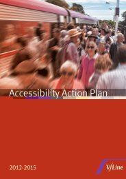 Accessibility Action Plan - V/Line