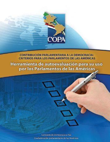 Herramienta de autoevaluación para su uso por los ... - COPA