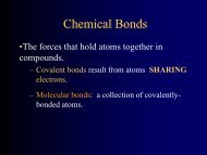 lecture notes - Avon Chemistry