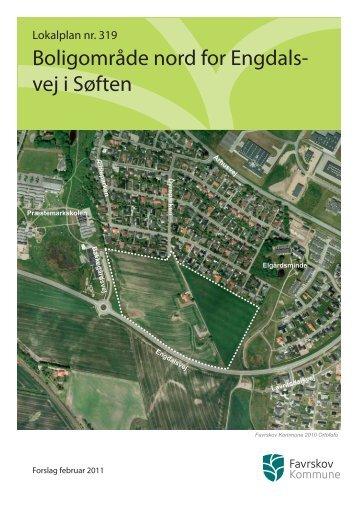 Boligområde nord for Engdals- vej i Søften - Favrskov Kommune