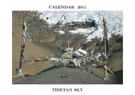 CALENDAR 2011 TIBETAN SKY - Alistair J Bray