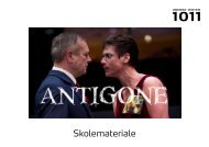 Antigone - Odense Teater