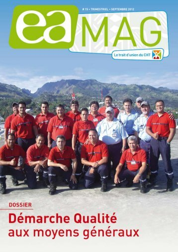 # 15 • TRIMESTRIEL • SEpTEMbRE 2012 - Centre Hospitalier de ...