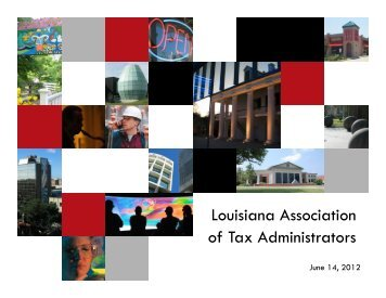 06-14-12 LA Assoc of Tax Administrators