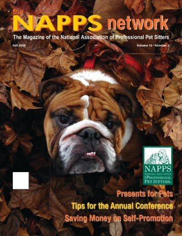 Fall 2006 - National Association of Professional Pet Sitters