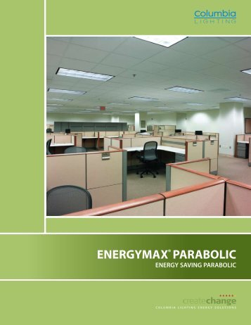 CO1028 - EMX EnergyMax® Parabolic Brochure - Columbia Lighting