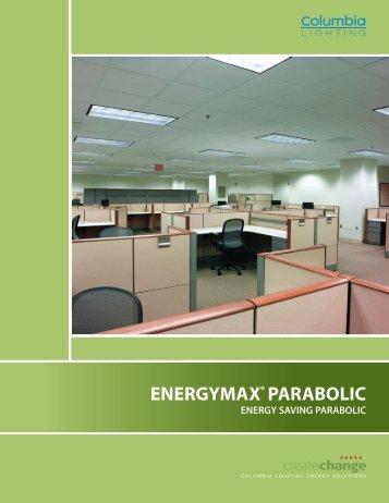 CO1028 - EMX EnergyMax® Parabolic Brochure - Columbia Lighting