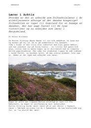 Lærer i Arktis Hvordan er det at arbejde som ... - Folkeskolen
