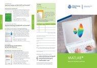 MATLAB® kompakt - Oldenbourg Verlag
