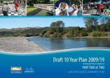 Draft 10 Year Plan 2009/19 - Palmerston North City Council
