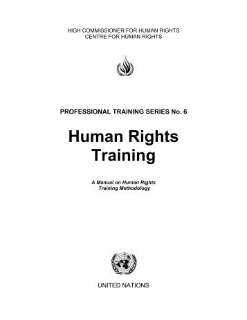 High g training profiles in a high performance human - Office of the commissioner for human rights ...