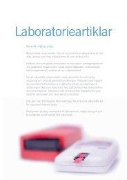 Laboratorieartiklar