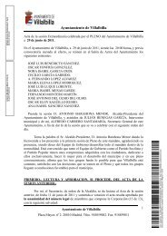 Sesión de 29 de junio de 2011 - Ayuntamiento Villalbilla