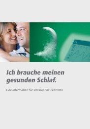 Ich brauche meinen gesunden Schlaf. - NRI Medizintechnik GmbH
