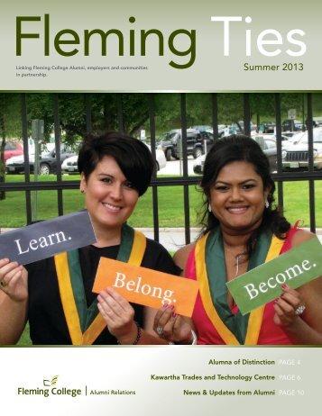 Summer 2013 - Fleming College