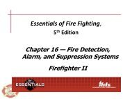 Fire Detection, Alarm and Suppression Systems - Tigerville FD