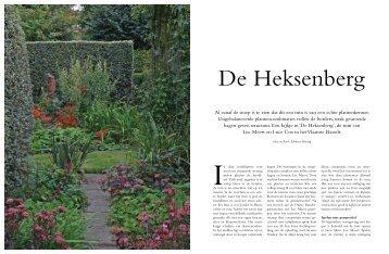 Al vanaf de stoep is te zien dat dit een tuin is van ... - Modeste Herwig