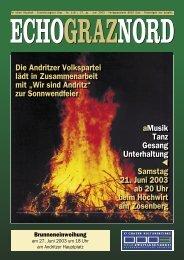 EchoGrazNord Juni2003.indd - bei der ÖVP  Andritz