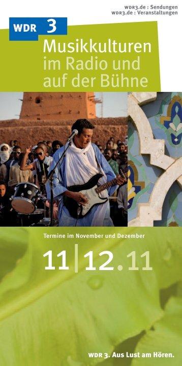 Dezember 2011 - WDR 3