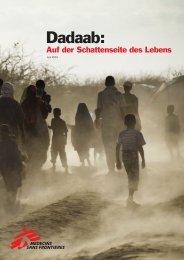 Dadaab: Auf der Schattenseite des Lebens - Ärzte ohne Grenzen