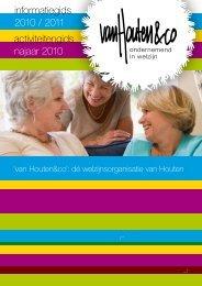 informatiegids 2010 / 2011 activiteitengids najaar ... - VanHoutenenCo