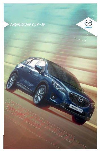 Brosura Noua Mazda CX-5