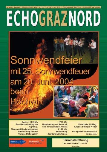 124. Juni - bei der ÖVP  Andritz